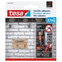 Tornillo adhesivo cuadrado hasta 2,5kg ladrillo/piedra TESA