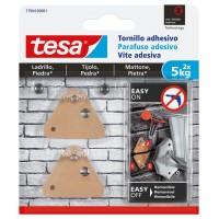 Tornillo adhesivo triangular hasta 5kg ladrillo/piedra TESA