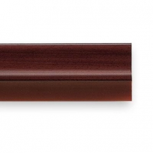 Burlete con PVC para puerta 820mm madera oscura INOFIX