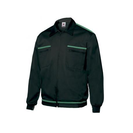 Cazadora Vertice bicolor BI61601-0/2 Negro/Verde VELILLA