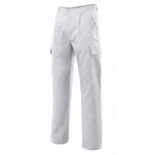 Pantalon multibolsillos 31601-7 Blanco VELILLA