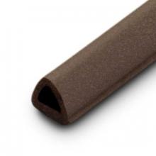 "Burlete marron tipo ""D"" rollo 6mts. INOFIX"