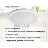 Plafon detector presencia Detelux 360 PIR KPS