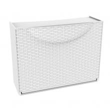 Zapatero modular 1 puerta Harmony 51x19x39cm blanco