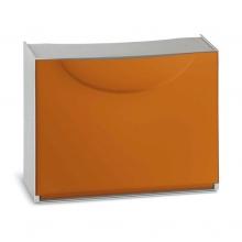Zapatero modular 1 puerta Harmony 51x19x39cm naranja