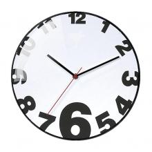 Reloj cristal curvo Ø31cm
