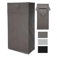 Armario auxiliar desmontable de tela 75x45x160cm Colores