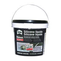 Silicona líquida AquaBlock 1Kg negra PATTEX