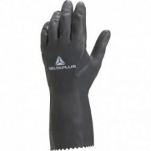 Guante Neocolor VE530 neopreno latex 30cm negro T-9/10 DELTAPLUS