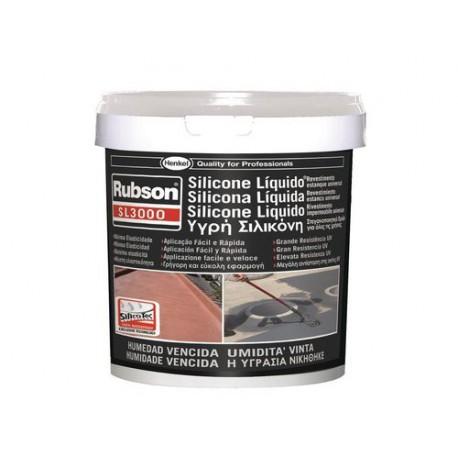 Silicona liquida AQUABLOCK SL3000 5kg blanca RUBSON