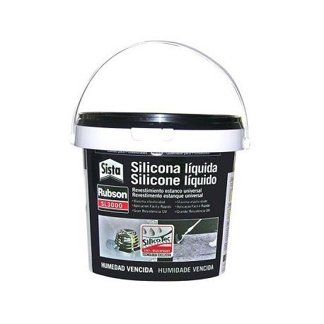 Silicona liquida AQUABLOCK SL3000 5kg terracota RUBSON
