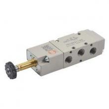 Valvula electrica 3/2 1/4 monoestable NC METALWORK