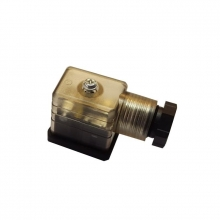 Conector led bobina 22   24V METALWORK