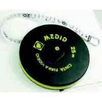 """Cinta metrica fibra de vidrio 50mx15mm """"0"""" en la anilla MEDID"""