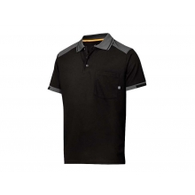 Polo 2701-0458 (tejido37.5) negro/gris oscuro SNICKERS