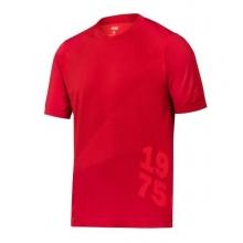Camiseta FlexiWork 2519-1600 (tejido37.5) roja SNICKERS