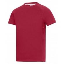 Camiseta 2504-1600 MultiPockets roja SNICKERS