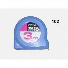 Flexometro 102 FC-30 3m sin freno YAMAYO