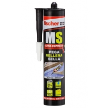 Sellador Polimero MS Express 290ml profesional FISCHER