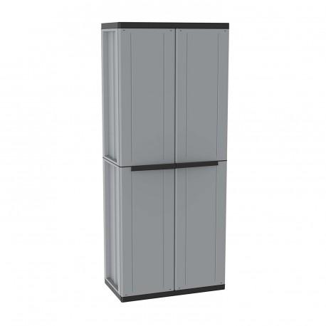 Armario de resina escobero para exterior j line jobgar - Armario lavadora exterior ...