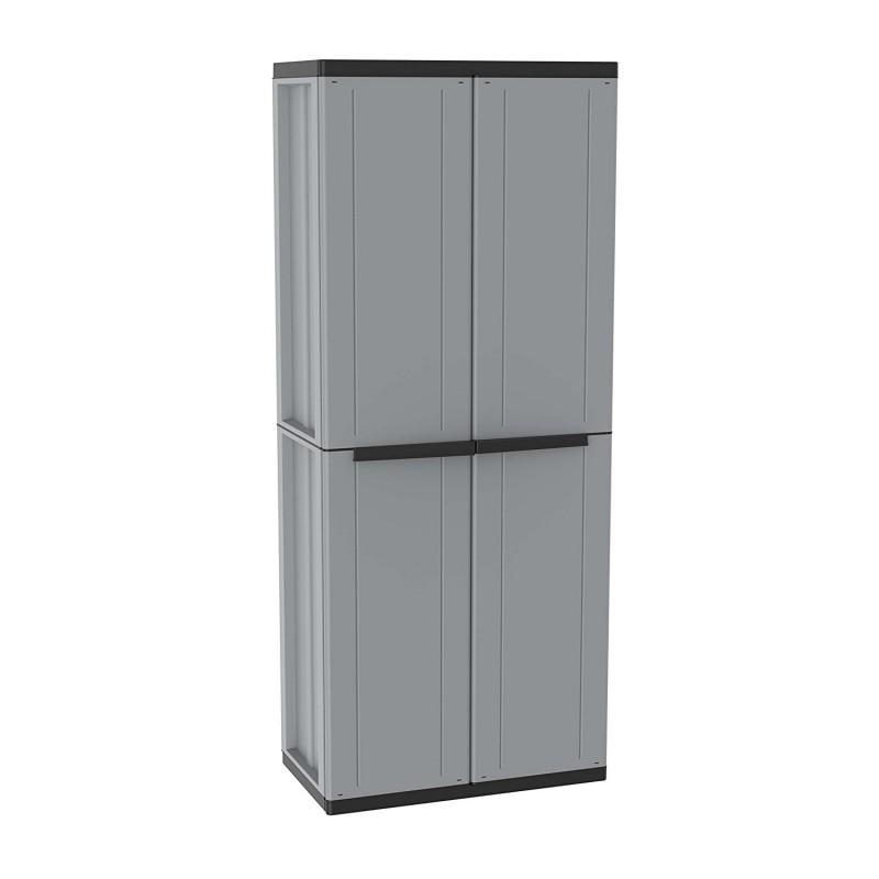 armario de resina escobero para exterior j line jobgar
