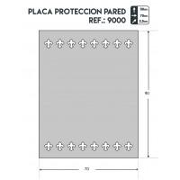 Placa proteccion pared JPANADERO