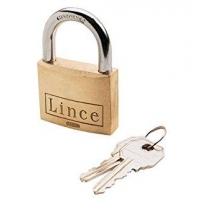 Candado latón 301-30 con Nº llave LINCE