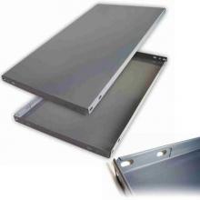 Panel ranurado gris 700x600mm