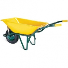 Carretilla obra amarilla honda europea 95l