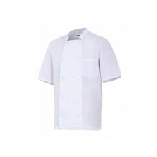 Chaqueta cocinero manga corta 405201 7 blanca VELILLA