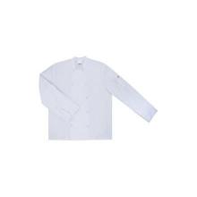 Chaqueta cocinero manga larga automatico 405206 7 blanca VELILLA