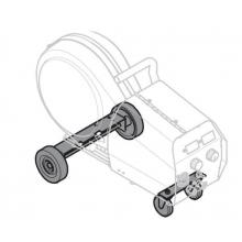 Carro transporte de 4 ruedas para inverter botella gas peque ESAB