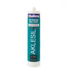 Silicona Aklesil translucida 280ml acida QUILOSA