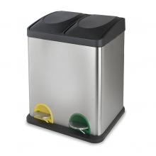 Cubo pedal ecológico doble 15l+15l HABITEX