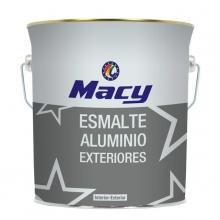 Esmalte aluminio exteriores 0,375l MACY