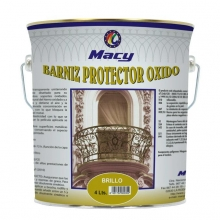 Barniz protector óxido 4l brillo MACY