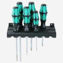 Juego de destornilladores Kraftform Plus Lasertip + bandeja WERA