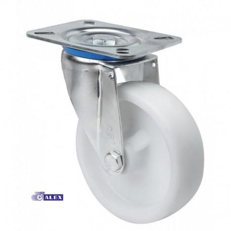 Rueda giratoria 2-0237 100Ømm 200kg poliamix ALEX