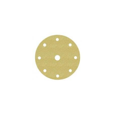 Disco Hookit 255P 150mm 8+1 agujeros P80 oro (25 unidades) 3M