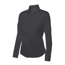 Camisa stretch mujer 405002-0 negra VELILLA