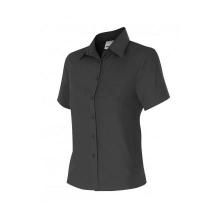 Camisa mujer manga corta 538-0 negra VELILLA