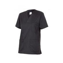 Camisola pijama de manga corta 589-0 negro VELILLA