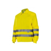 Cazadora alta visibilidad 155-20 amarillo VELILLA
