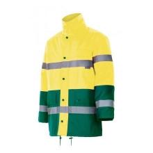 Parka alta visibilidad 166-110 amarillo/verde VELILLA