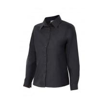 Camisa mujer manga larga 539-0 negro VELILLA