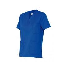 Camisola pijama de manga corta 589-62 azul utramar VELILLA