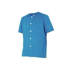 Chaqueta pijama manga corta 599-5 celeste VELILLA