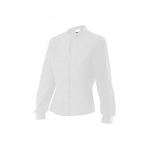 Camisa cuello mao mujer VIURA-7 blanca VELILLA