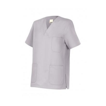 Camisola pijama de manga corta 589-58 gris hielo VELILLA