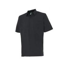 Camisa manga corta 531-0 negra VELILLA